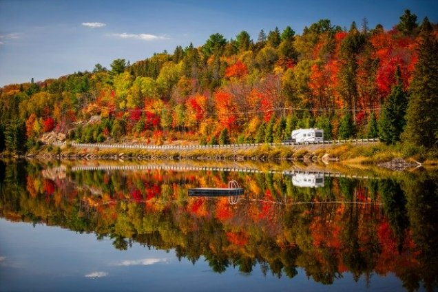 Have you ever been to Minnesota? In the fall? Please, do yourself a favor and go.